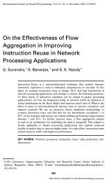 On the Effectiveness of Flow Aggregation in Improving Instruction ...