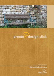 Pronto Design Click Prospekt - Naturo Kork AG