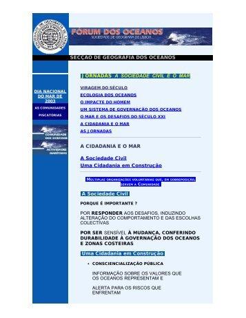 2003_a_cidadadania_e_o_mar - Sociedade de Geografia de Lisboa