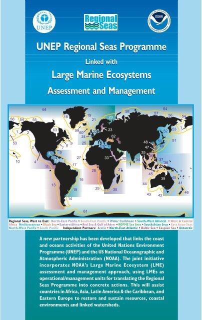UNEP Regional Seas Programme Large Marine Ecosystems UNEP ...