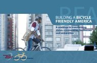 building a bicycle friendly america - League of American Bicyclists