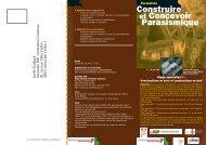 Stage 2009 « Contruire parasismique en bois et ... - Le Plan Séisme