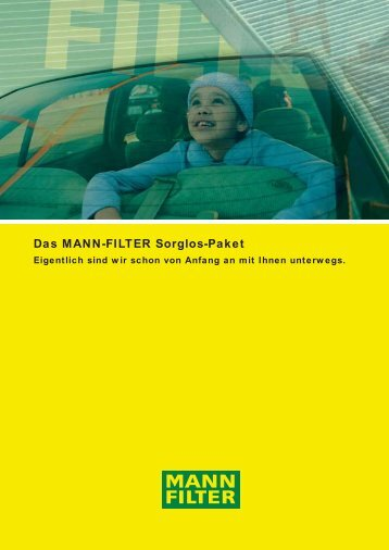 Das MANN-FILTER Sorglos-Paket