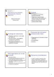 Présentation Tolochenaz 2. Feb. 2012 - Info entreprise ... - ASVP - SFV
