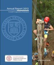 Annual Report 2012 - Cornell Cooperative Extension of Ontario ...