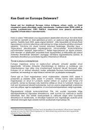 Kas Eesti on Euroopa Delaware.pdf - Justiitsministeerium