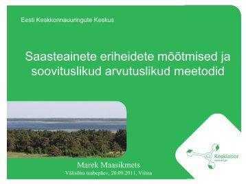 M. Maasikmets - Keskkonnaministeerium