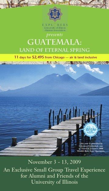 GUATEMALA: - University of Illinois Alumni Association