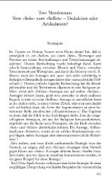Tore Nordenstam Vom »Sein« zum »Sollen« - Deduktion oder ...