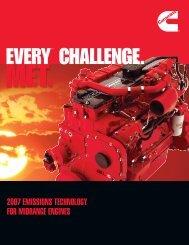 2007 emissions technology for midrange engines - Cummins Engines