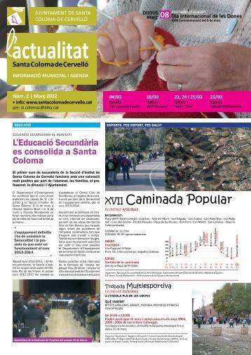 Març [Núm. 2 - pdf 1,14 Mb] - Ajuntament de Santa Coloma de ...