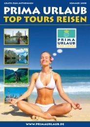 Top Tours Reisen 2008 - Prima Urlaub