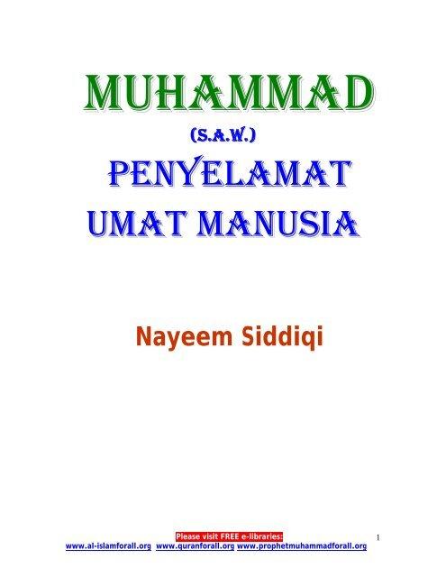 MUHAMMAD (PBUH) - Prophet Muhammad (SAW) for All