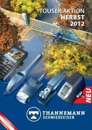 TOUSEK AKTION HERBST 2012