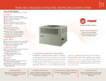 Rt prc025 en 0406 packaged cooling and gaselectric trane dealer sheet trane xb13c packaged gas climas trane sciox Images