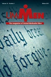 Volume 14 • Number 1 Winter 2011 - United Methodist Men