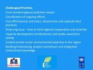 conclusions_i - Western Balkans Environment Programe