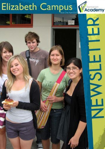 Issue One April 2010 - Tasmanian Academy