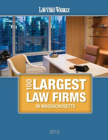 IN MASSACHUSETTS - Massachusetts Lawyers Weekly