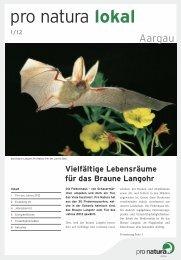 pro natura lokal - Pro Natura Aargau