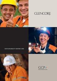 Glencore Sustainability Report 2010
