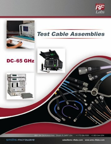 Premium Test Cable - RfMW