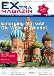 Emerging Markets Die Welt im Wandel - EXtra-Magazin