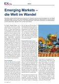 Emerging Markets Die Welt im Wandel - EXtra-Magazin - Seite 6