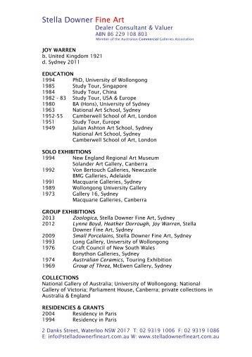 Curriculum vitae pdf download english diana dudek to download curriculum vitae as pdf stella downer fine art altavistaventures Gallery