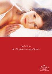 Hüsler Nest - Tischlerei Gasser