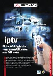 Digital To TV (IPTV)