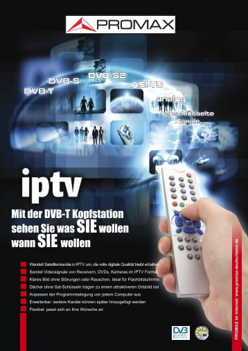 Digital To TV (IPTV)