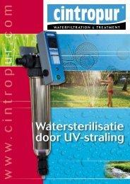 Folder Ultra Violet Cintropur - Aquaonline.be