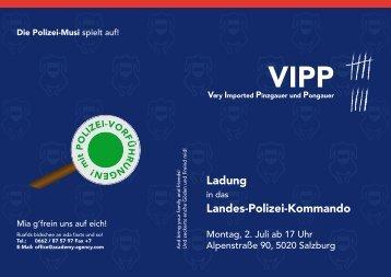 Ladung Landes-Polizei-Kommando