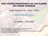 Planes de Cierre Mineros - cazalac