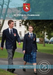 CLICK HERE>> for a PDF and print version of the ... - St Peter's School