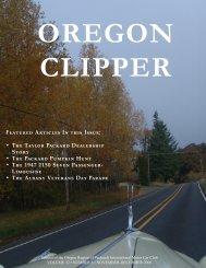 November - December 2006 - Packards of Oregon