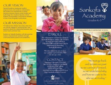 English - Oakland Unified School District