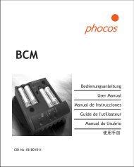 BCM User Manual_20080812.FH10 - Phocos.com