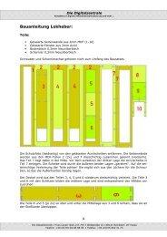 Bauanleitung Lokheber Spur TT - Digitalzentrale