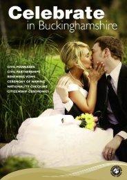 Celebrate in Buckinghamshire - Buckinghamshire County Council