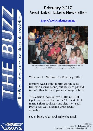 February 2010 - the Lakers Triathlon Club
