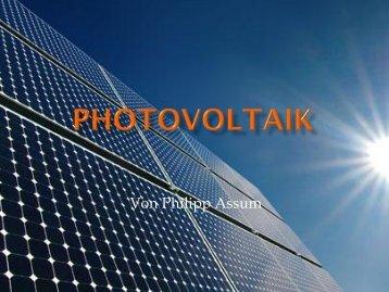 Photovoltaik - Institut für Theoretische Physik I
