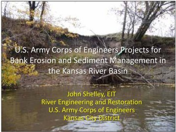 U.S. Army Corps of Engineers Projects for Bank Erosion and ...