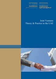 Joint Ventures - Theory & Practice in the UAE.pdf - Italian Industry ...