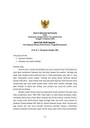 PIDATO JAKARTA POST - Pusat Sosial Ekonomi dan Kebijakan ...