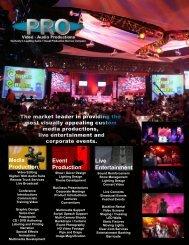Media Production Event Production Live Entertainment