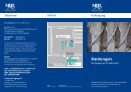 Bindungen - NBS Greifswald
