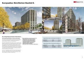 Europaallee: Büroflächen Baufeld E. - Homegate.ch