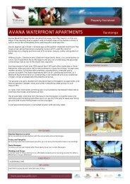 fact sheet / brochure - Island Hopper Vacations